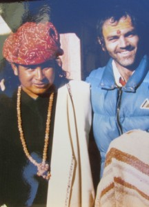 Леонард Орр и Бабаджи. Индия, 1977 г.